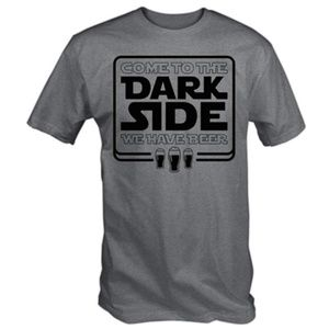 Men's Come to The Dark Side We Have Beer T-Shirt
